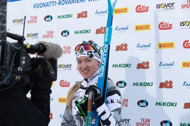 Anita Korvan MM-valinta oli lauantain ykköspuheenaiheita Imatralla.
