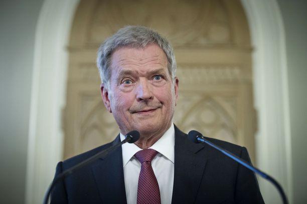 Nyt myös tasavallan presidentti Sauli Niinistö sai osansa Viron arvostelusta.