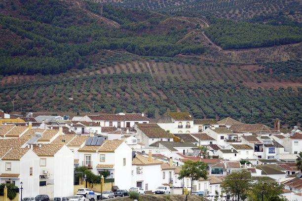 Ardalesin kylä Espanjan Andalusiassa.