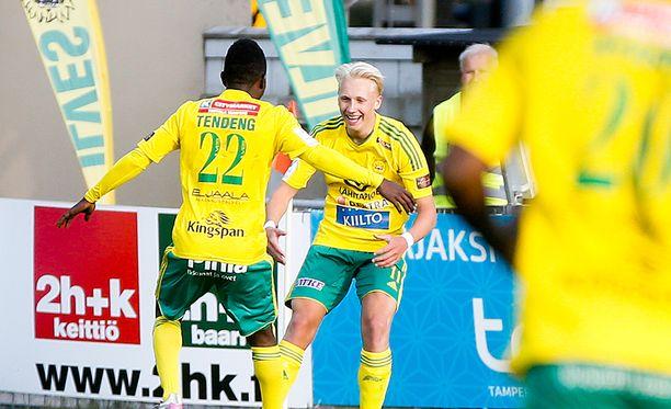 Mikael Soisalo lähti pääsarjapelien perässä Tampereelle. Se kannatti.