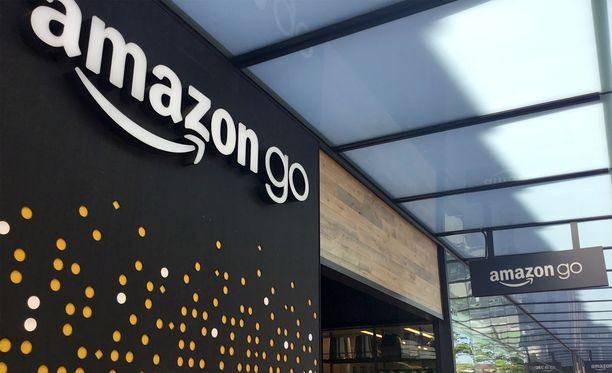 Ensimmäinen Amazon Go -liike on kooltaan ja valikoimaltaan melko vaatimaton.