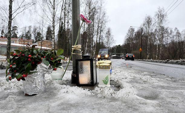 11-vuotias kuoli Viikissä viime viikolla, kun rattijuoppo ajoi hänen päälleen.