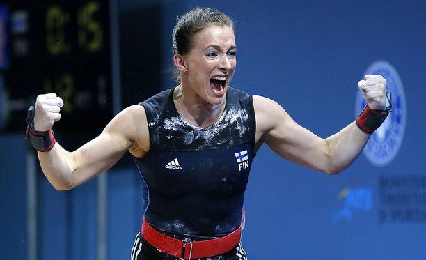 Anni Vuohijoki teki kovaa jälkeä MM-kisoissa.