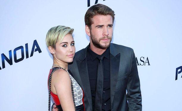 Miley Cyrusin rakkaudenosoitukset ovat omalaatuisia.
