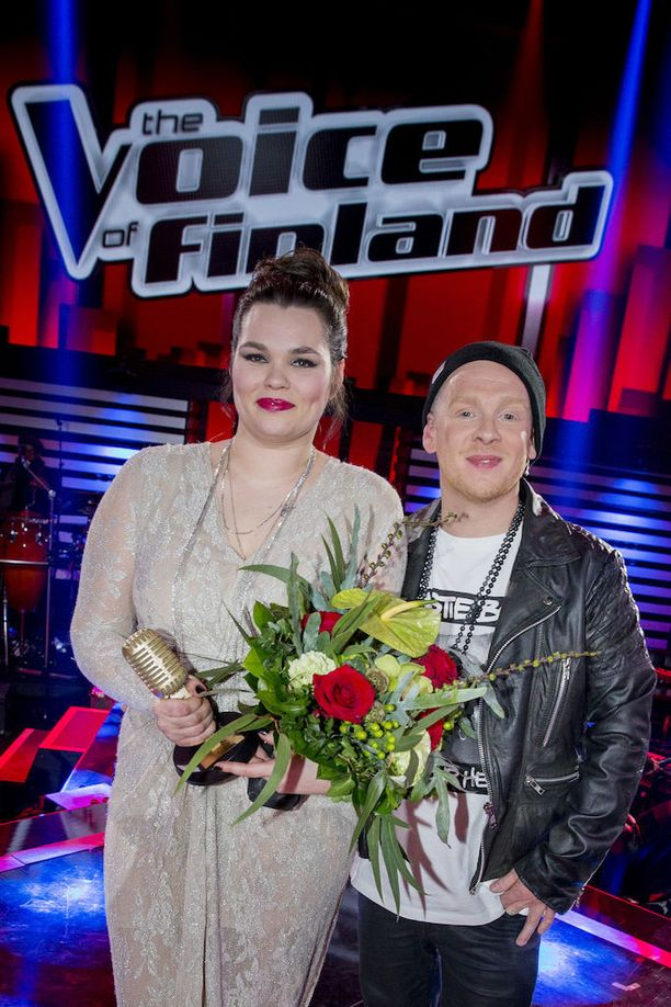 Valmennettava Saija Saarnisto ja valmentaja Redrama.