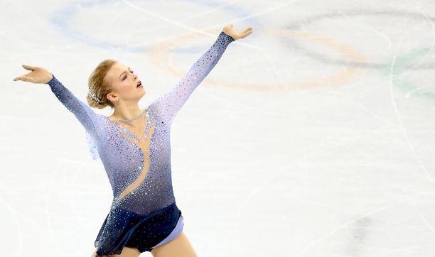 Emmi Peltonen edusti Suomea Pyeongchangin olympialaisissa.