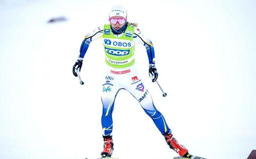 Ruotsalaiset juhlivat sprintissä, tähtihiihtäjän silmäkulma aukesi – Verneri Suhonen hehkutti Ylellä elämänsä parasta hiihtopäivää