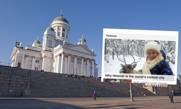 """Uutiskanava CNN kuvailee Helsinkiä """"maailman cooleimmaksi kaupungiksi""""."""