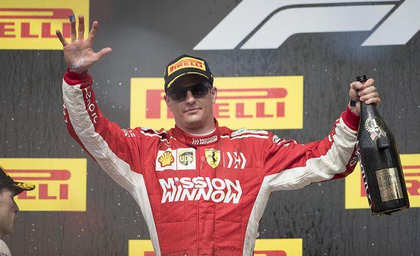 Kimi Räikkönen ajaa tänä viikonloppuna Meksikon GP:ssä.