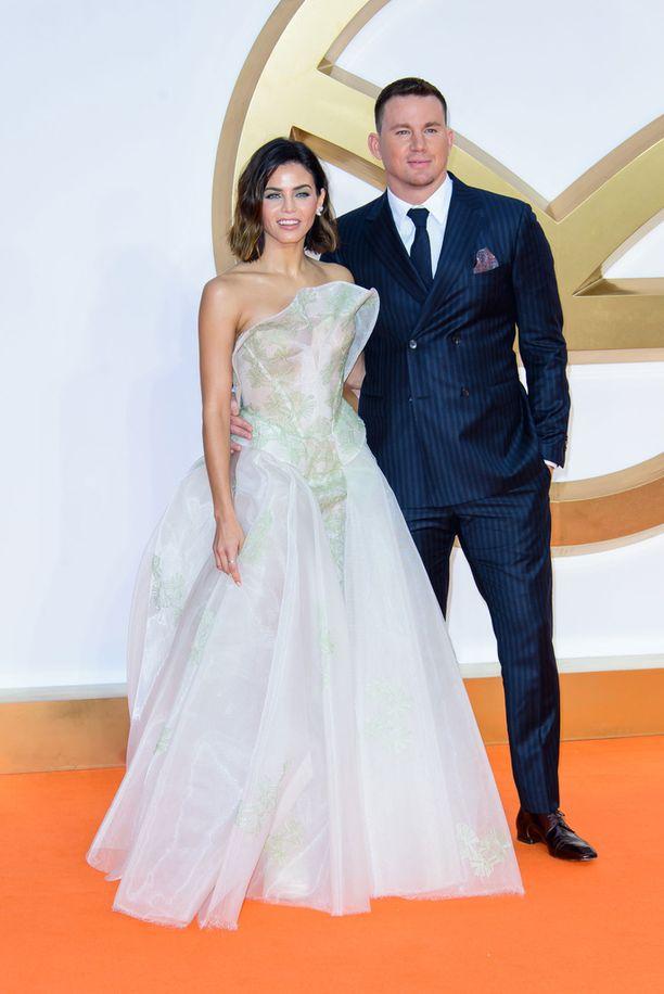 Ex-pari tutustui aikanaan yhteisen elokuvan kuvauksissa ja alkoi seurustella muutamaa vuotta myöhemmin.