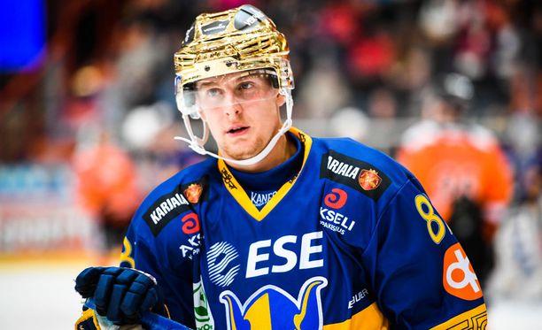 Henrik Koivisto on hurjassa pistetikissä.