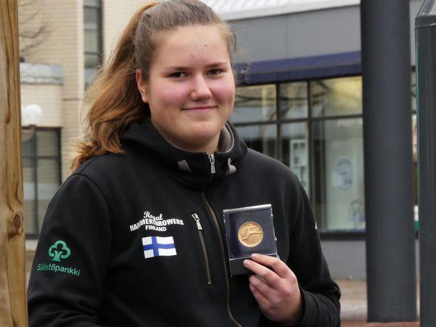 Silja Kosonen tekee nousua yleisurheilutaivaalle.