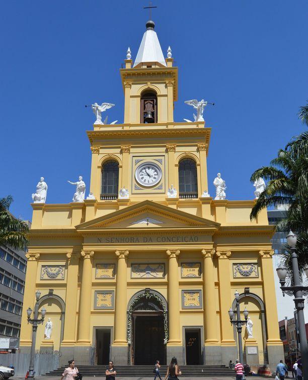 Ammuskelu tapahtui Campinasin katedraalissa kesken jumalanpalveluksen. Arkistokuva.