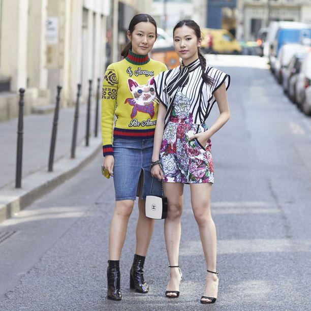 Michelle Yeoh ja Rachel Yeoh