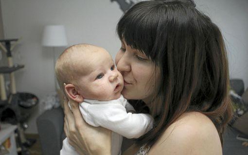 Emilia Kivistö synnytti pojan lokakuun lopussa ja kaikki on sujunut todella hienosti