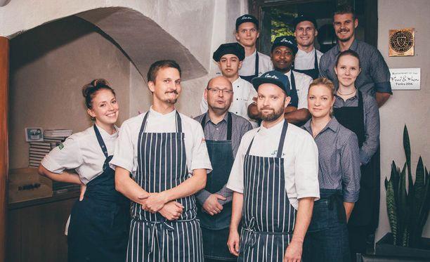 Viime vuonna Food and Funin paras menu syntyi ravintola Smörin keittiössä.