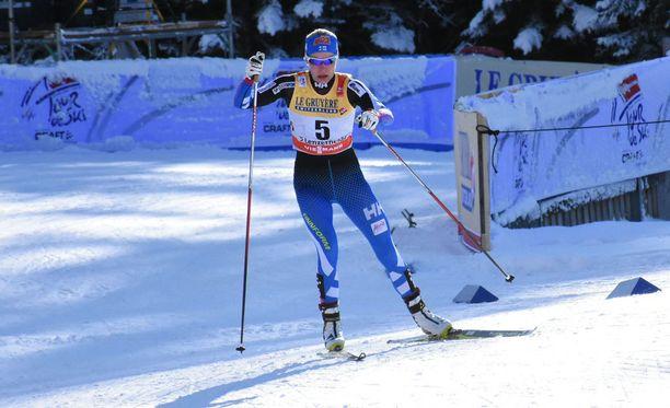 Anne Kyllönen on viikonlopun perusteella Suomen paras naishiihtäjä.