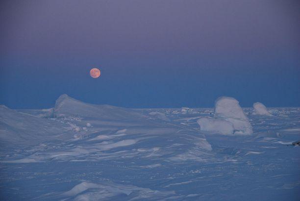 Arktiset jääalueet sulavat ennätysvauhtia.