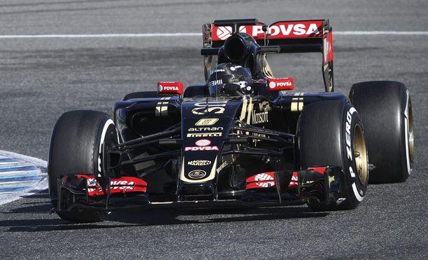 Vaikeuksissa painiva Lotus-talli keräsi viime kaudella vain 10 sarjapistettä.