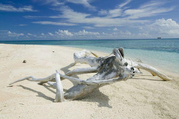 Tuvalu uhkaa hukkua kohoavan meren alle.