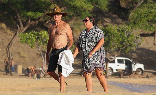 Pierce Brosnanilla on luonnollinen iskapack.
