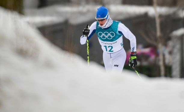 Matti Heikkinen oli 21:s olympiakisojen 30 kilometrin yhdistelmähiihdossa.