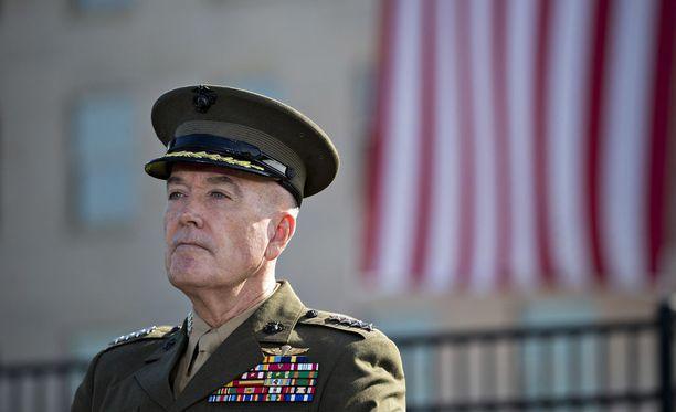 Yhdysvaltain asevoimien komentaja Joseph F. Dunford Jr. johtaa Yhdysvaltain delegaatiota.