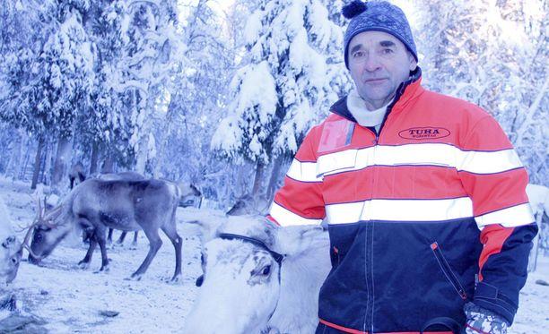 Lappilainen Pertti Teurajärvi kuvattuna vuona 2011.