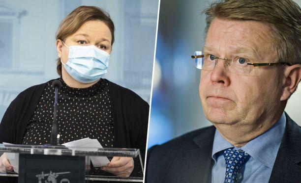 Perhe- ja peruspalveluministeri Krista Kiurun (sd) mukaan hallitus on ohjeistanut kuntia siitä, että myös työterveyspalvelu pitää ottaa rokotuksiin mukaan.