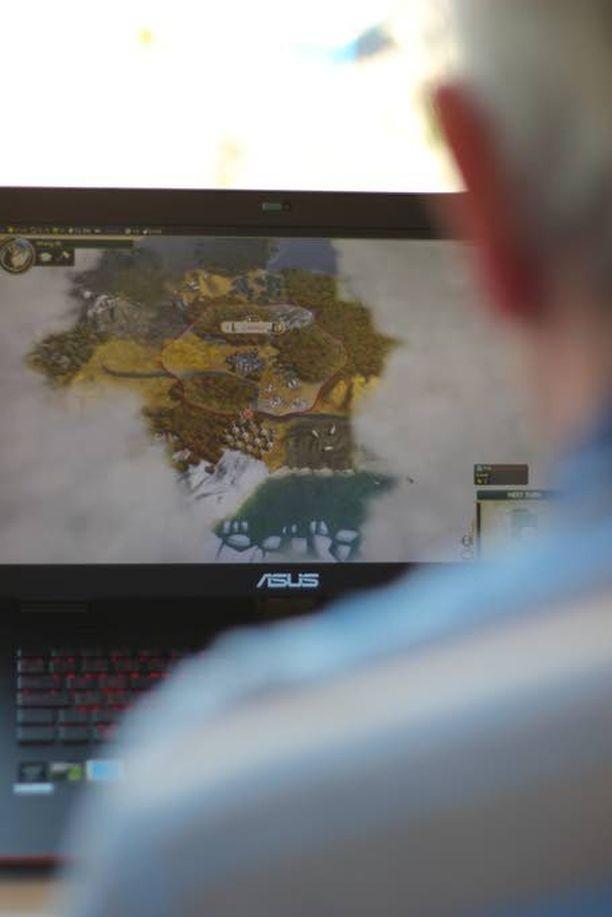 Lahden lempipeli on Civilization, josta hänen koko pelaamisinnostus alkoi.