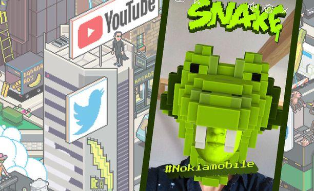 Uutta Snake-peliä voi pelata Facebookissa.