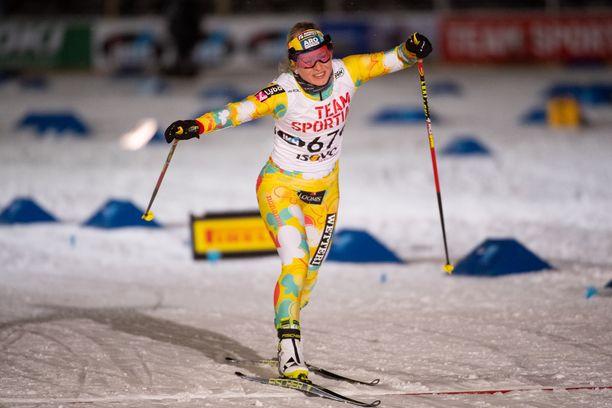 Riitta-Liisa Roponen, 40, on ollut mukana hiihdon arvokisoissa vuodesta 2002 lähtien. Lahti 2017 jäi väliin selkämurheiden takia.