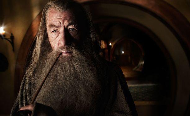 Ian McKellen Gandalfina.