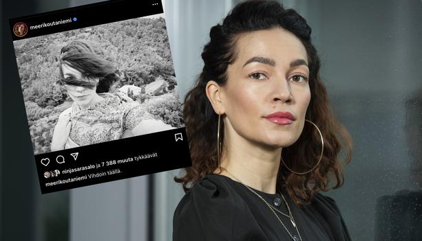 Meeri Koutaniemi kertoo tuoreista kokemuksistaan Instagramissa.