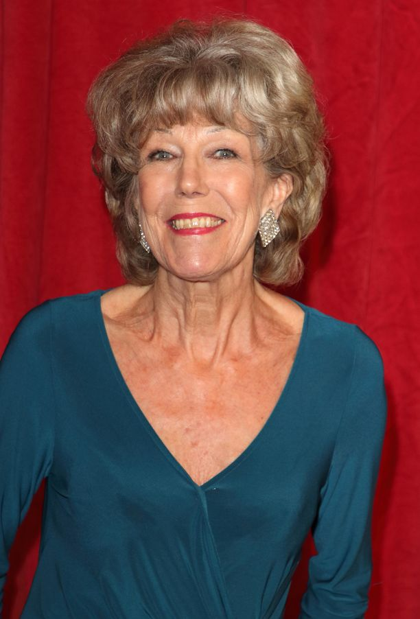 Sue Nicholls on palkittu roolistaan myös monin palkinnoin.