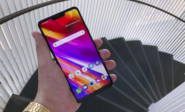 G7 Thinq on LG:n uusin puhelin.