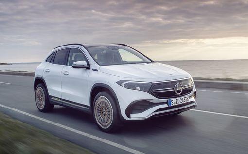 Mercedes esitteli ensimmäisen pienen sähköautonsa - hinta jää alle 50 000 euron?