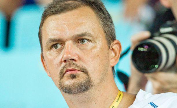 Hannu Kangas (kuvassa) toimii Riossa keihäänheiton lajivalmentajana, koska Kari Ihalainen hyllytettiin.