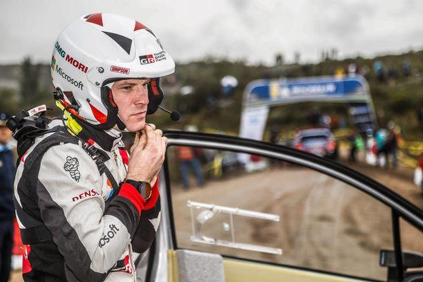 Jari-Matti Latvala oli joutua kolariin.