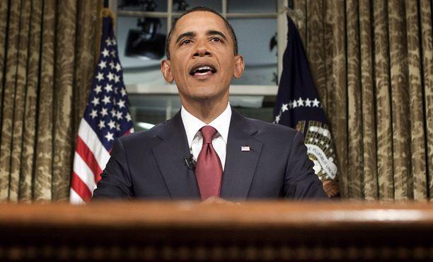 Obaman mukaan Yhdysvaltain taistelutehtävät Irakissa ovat nyt ohi.