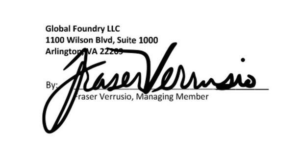 Global Foundryn puolelta sopimuksen allekirjoitti Fraser Verrusio. Verrusio tuomittiin vuonna 2011 lahjusrikoksesta.