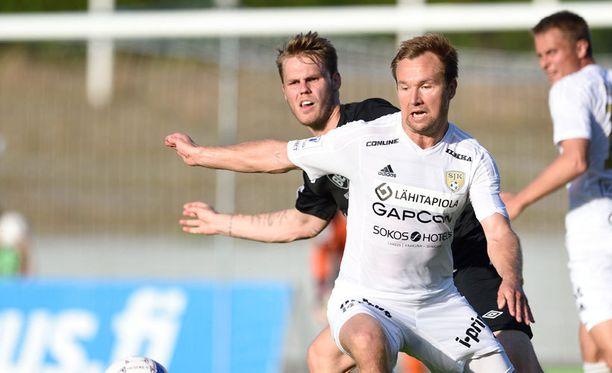 Toni Lehtinen on SJK:n ykköspyssy kuudella maalillaan.