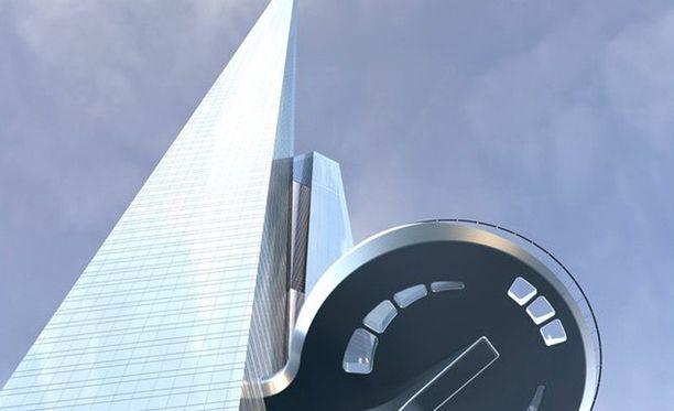Torniin on tulossa muun muassa maailman korkein näköalatasanne.