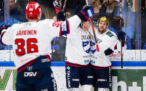 Teemu Turunen on tulikuuma – HIFK rokotti kaksi kertaa 13 sekunnissa