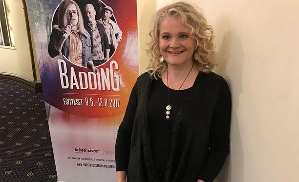 Katja Aakkula on valittu juuri Muumimamman ääninäyttelijäksi.