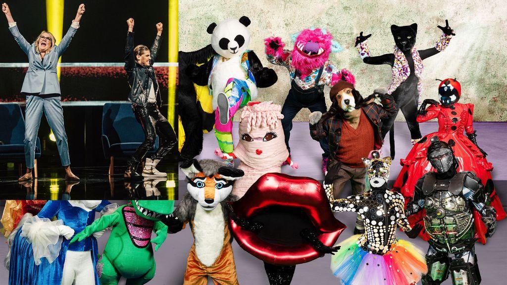 Katsojat armottomia: Masked Singerin ja Mysteerilaulajien kisassa selvä voittaja