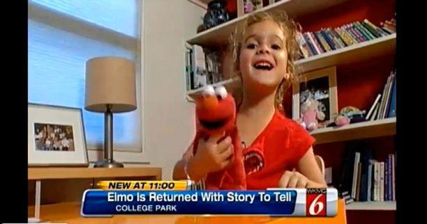 Elmo ei ollutkaan kadonnut vaan omalla seikkailuretkellään.
