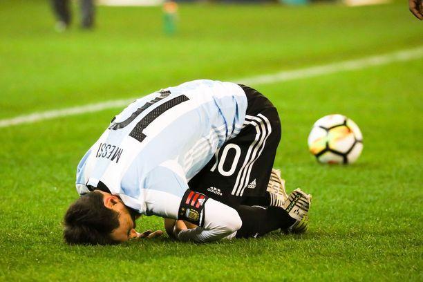 Lionel Messin uralta puuttuu vielä merkittävä maajoukkuemenestys.