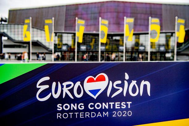Euroviisut järjestetään toukokuussa Alankomaiden Rotterdamissa.