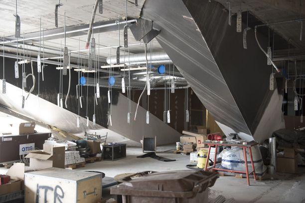 Oodi -kirjasto valmistuu joulukuun alussa. Tältä siellä näyttää toukokuussa.